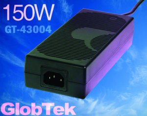 GT-43004P15024-T3 represents GlobTek's 150W desktop series family which is also updated to comply with IEC 60950-1 2nd edition or IEC60601-1 3rd edition